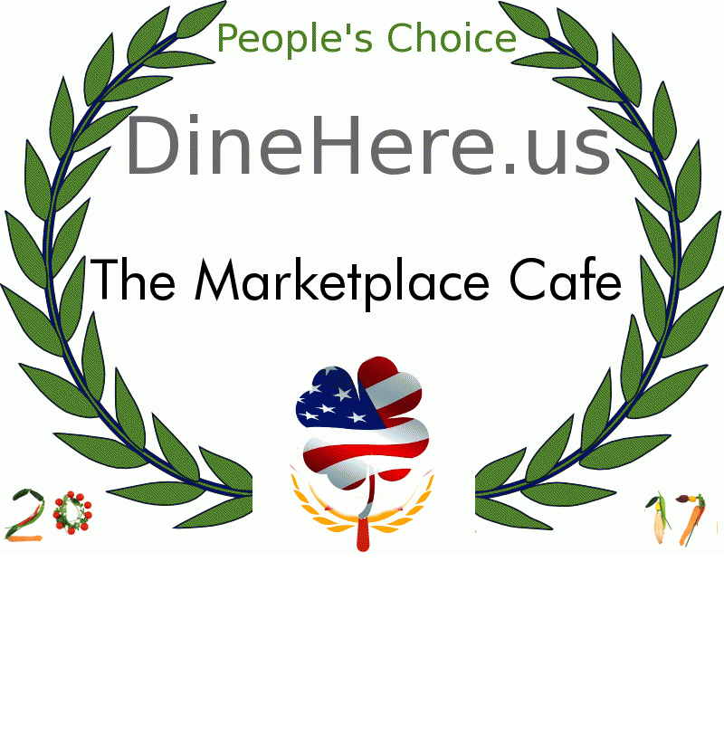The Marketplace Cafe DineHere.us 2017 Award Winner